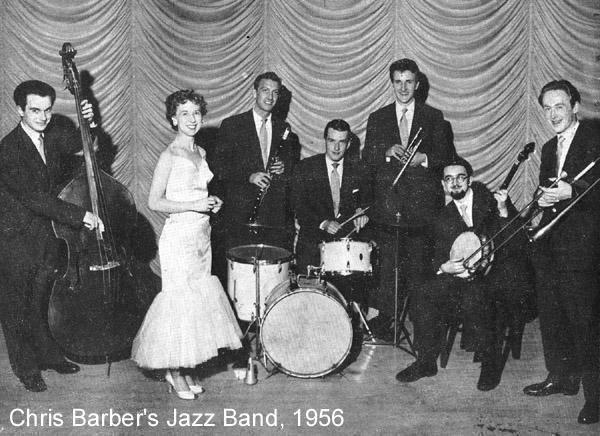 Chris Barbers Jazz Band 1956