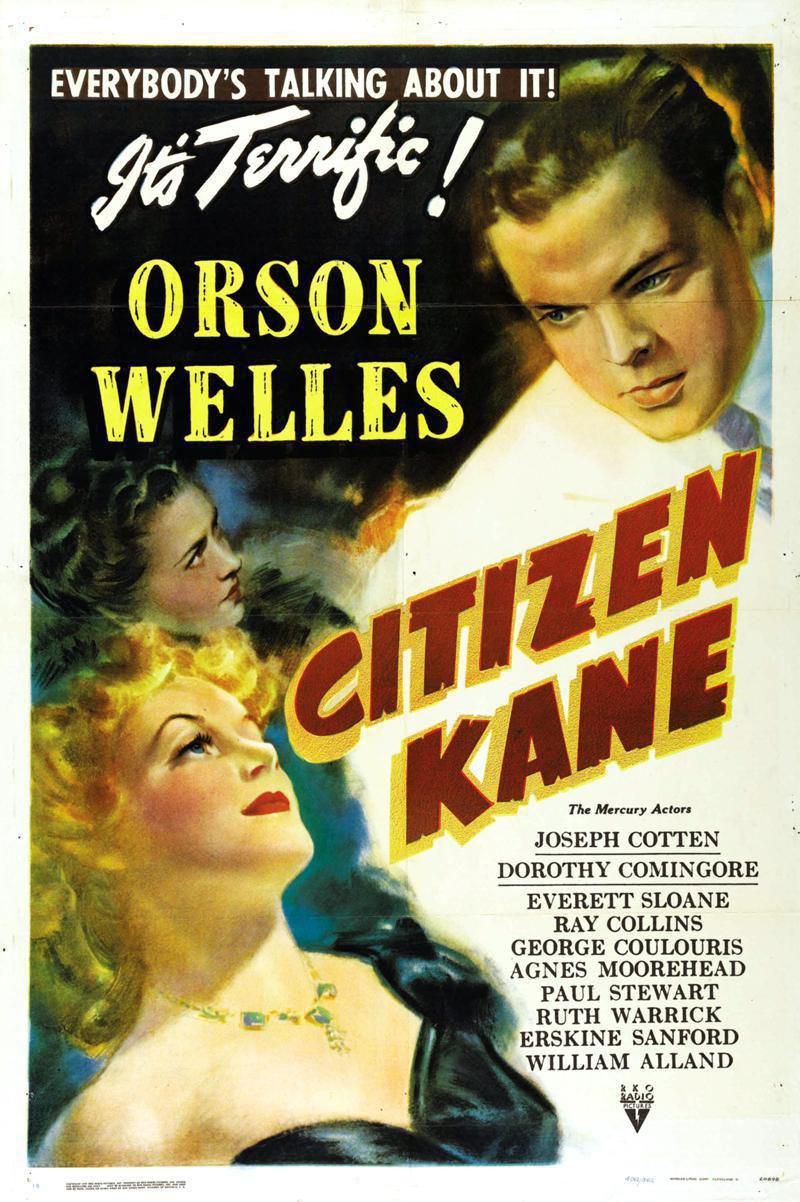 Citizen Kane poster 1941 Style B unrestored