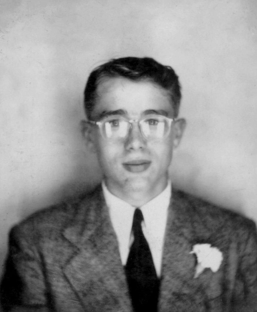 James Dean Young formal portrait before he was famous