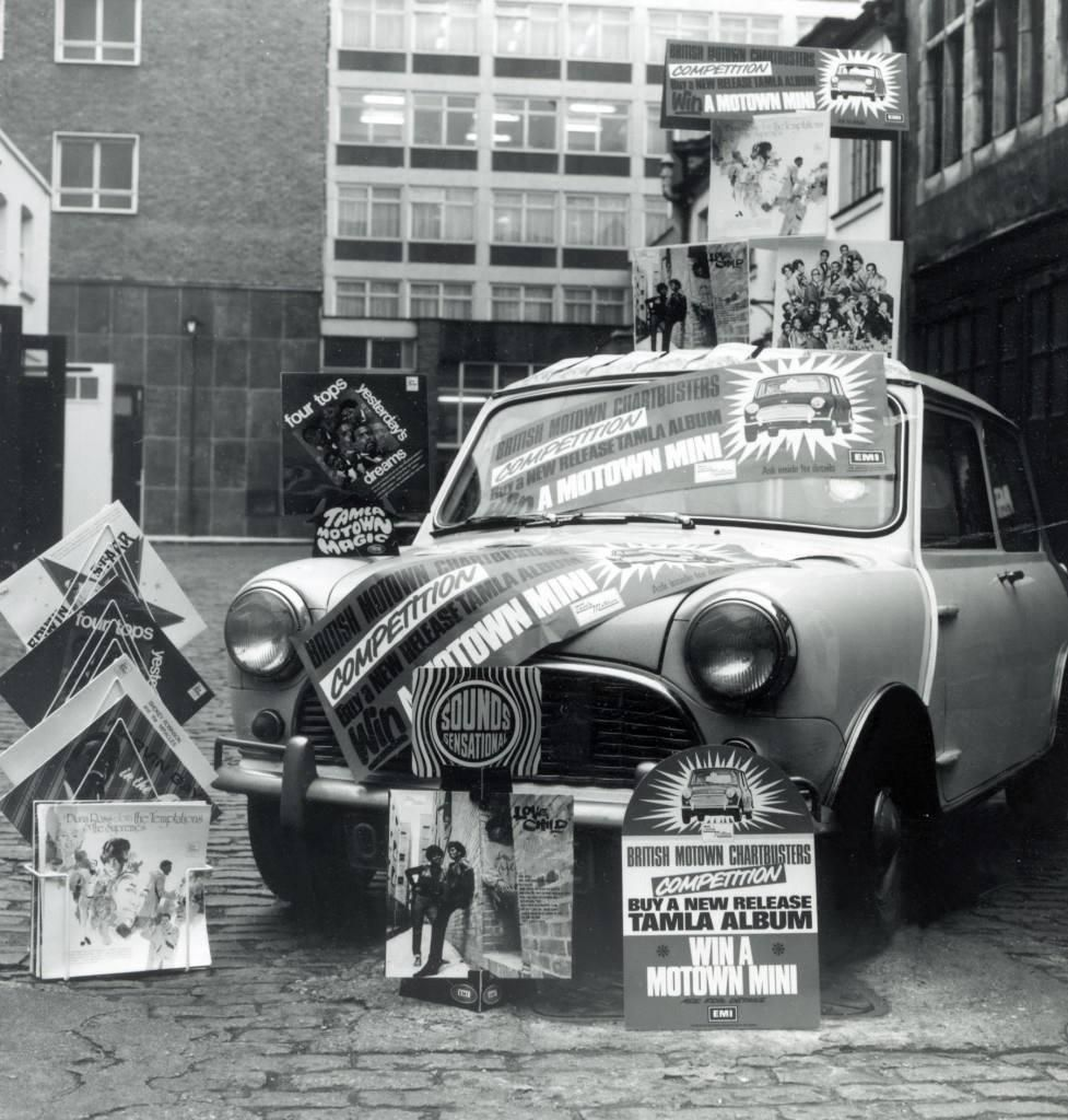 In 1969 Motown launched a competition where fans could Win a Motown Mini