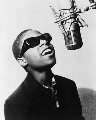 Little Stevie Wonder age 11 signed to Motown in 1961