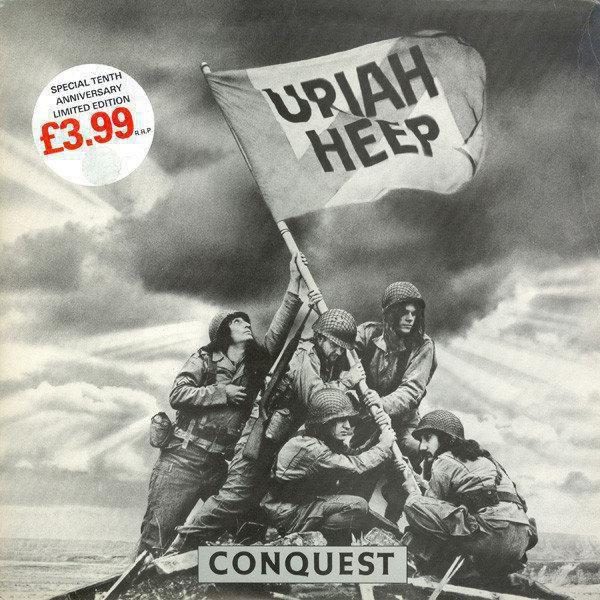 Uriah Heep Conquest 1980