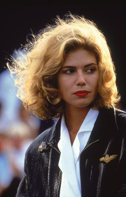 Kelly McGillis in Top Gun 1986