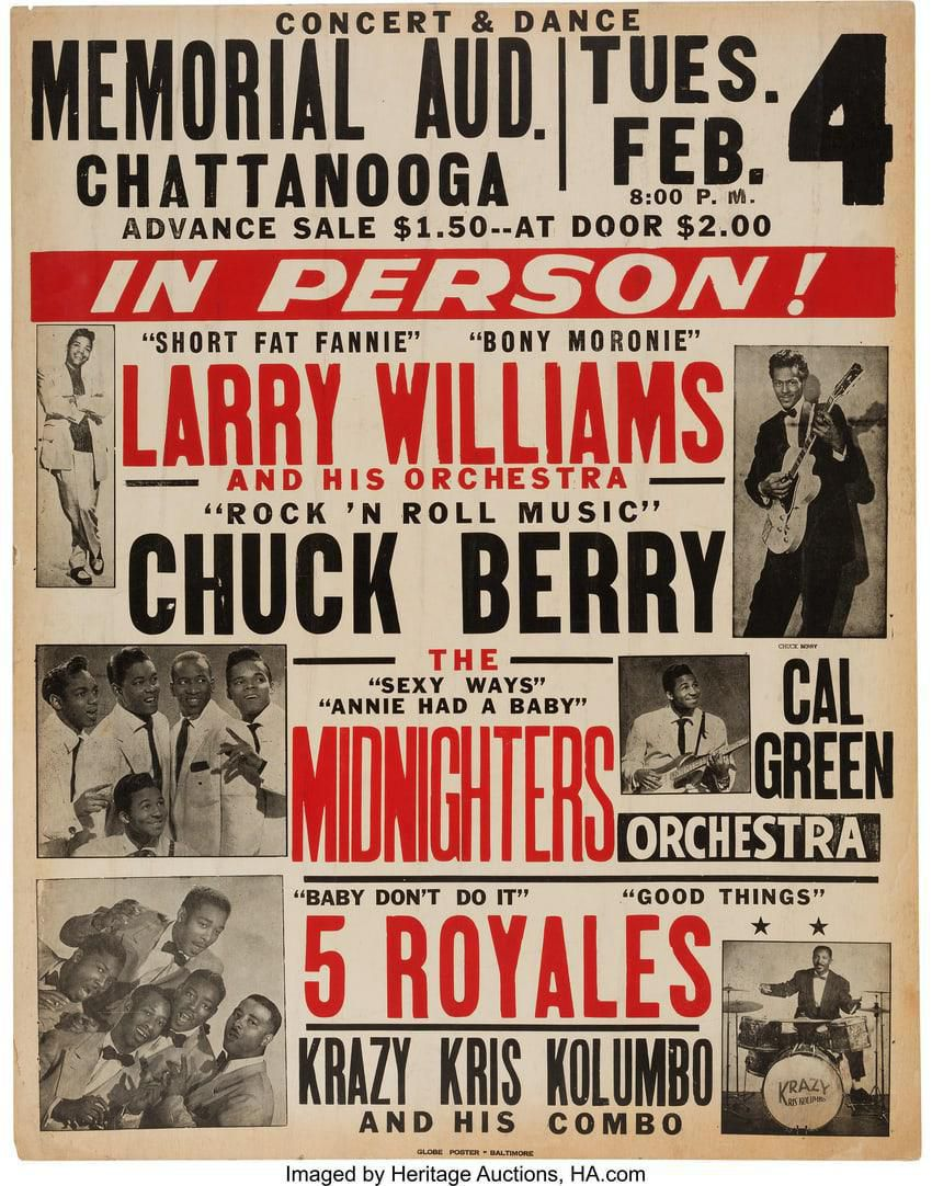 larry williams chuck berry