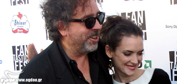 "Tim Burton & The Killers - ""Here With Me"" with Winona Ryder"