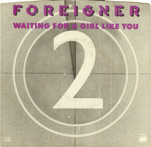 12.Foreigner Waiting A Girl Like You