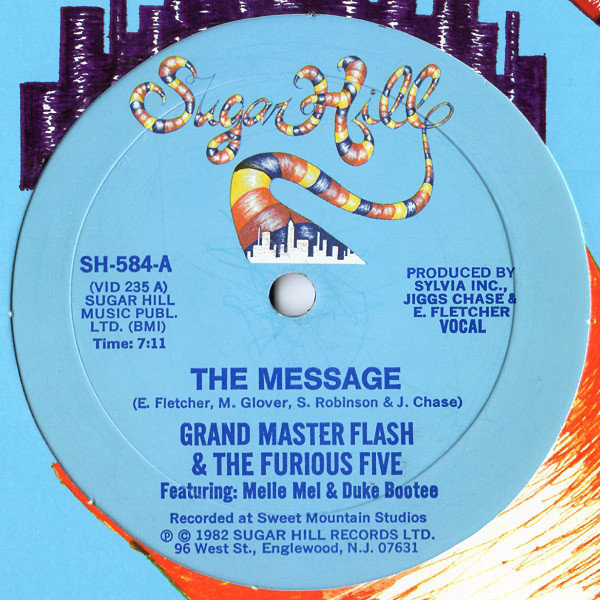 26. Grand Master Flash And Furious Five New York New York