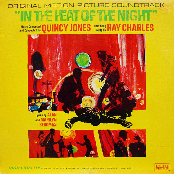 3. QUINCY JONES In The Heat Of The Night United Artists 1967