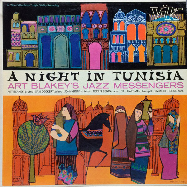 Art Blakeys Jazz Messengers A Night In Tunisia 1958