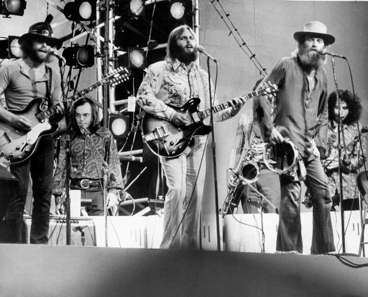 Beach Boys Good Vibrations from Central Park 1971