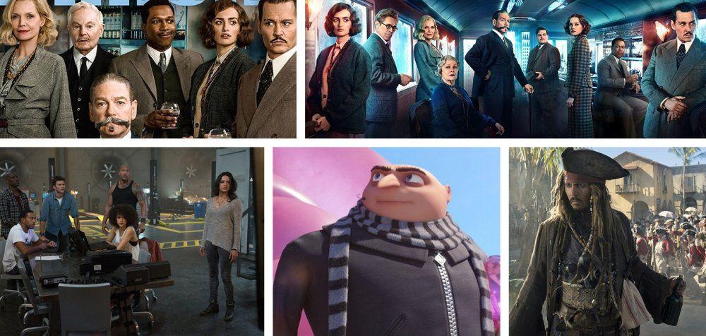 Αποτέλεσμα εικόνας για ποιες ταινιες εκοψαν τα περισσοτερα εισιτηρια 2017