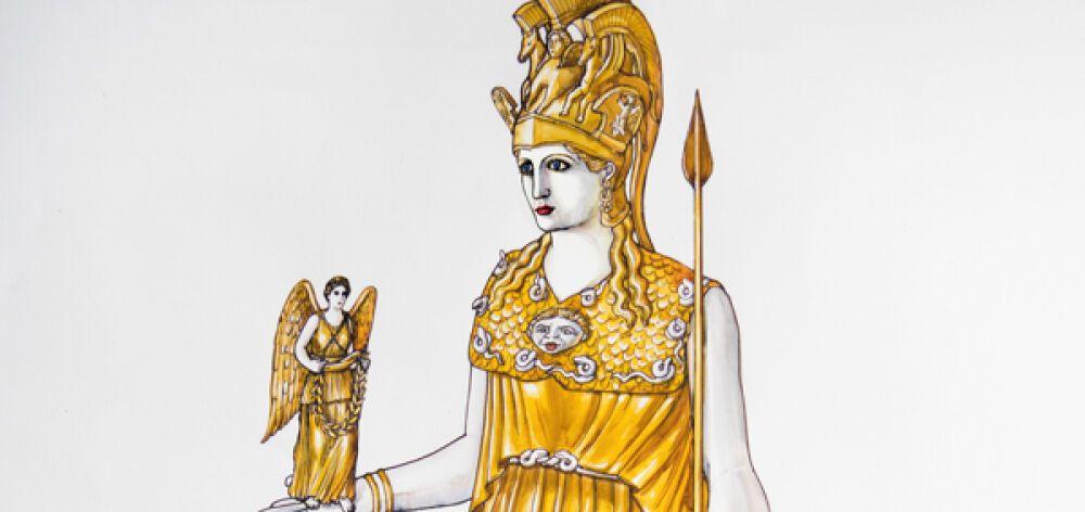 Γνωρίστε το χαμένο άγαλμα της Αθηνάς Παρθένου!