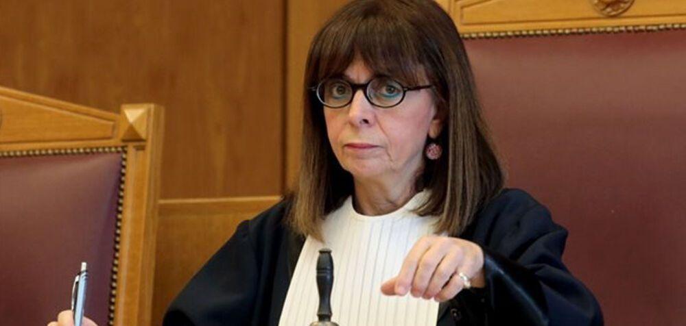 Αικατερίνη Σακελλαροπούλου για ΠτΔ ανακοίνωσε ο Κ. Μητσοτάκης